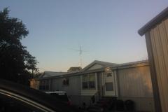 Bill and Joyce Fisher (W5WMF & W5JLF) Antenna Raising
