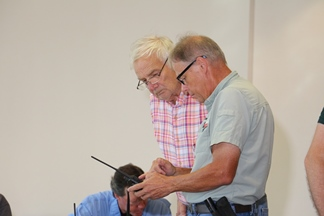 Learning about new radios.