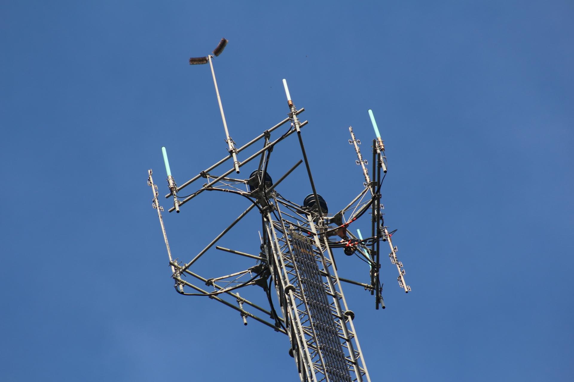 Old antenna.