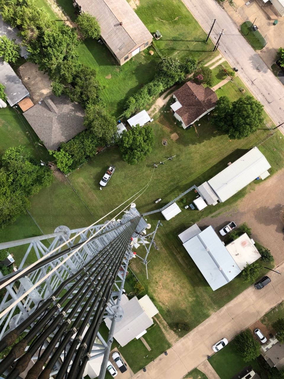 View of Skyline Communications from the top of their structure
